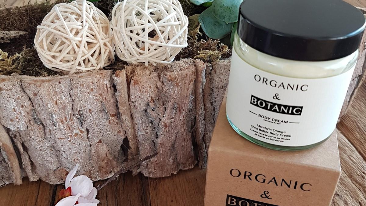 Naturkosmetik Test: Organic & Botanic Body Cream Mandarin Orange